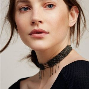 Free People Tained Love Chain Choker. New